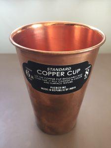 銅製のカップ 9歳になる娘さんのお誕生日会でサプライズの出張マジックショー