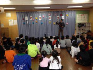 ピロピロ笛 学童保育のお別れ会でマジックショー in 東村山市