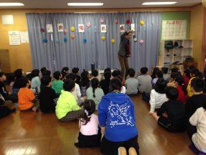オープニング 学童保育のお別れ会でマジックショー in 東村山市
