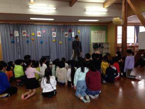 ロープとリング 学童保育のお別れ会でマジックショー in 東村山市