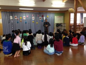 ロッキーラクーン 学童保育のお別れ会でマジックショー in 東村山市