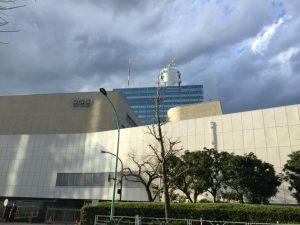 渋谷税務署前から撮ったNHK