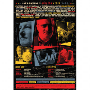 Bullets After Dark (2 DVD Set) by John Bannon & Big Blind Media - DVD 裏
