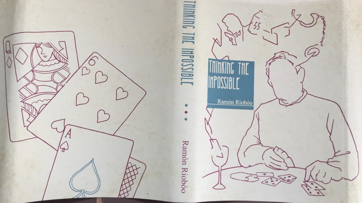 Thinking the Impossible Ramón Riobóo カバー