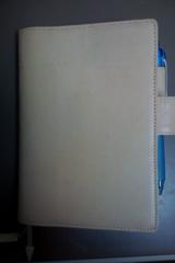2009年ほぼ日手帳 カバーは皮