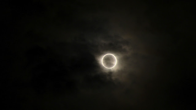 金環日蝕撮影 Annular solar eclipse 2012/5/21