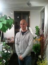 下落合の花屋さん『葉織』(haori)のオーナー久保田さん
