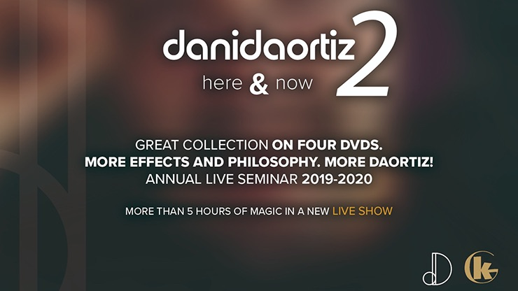 Here & Now 2 (4 DVD Set) by Dani DaOrtiz レビュー2