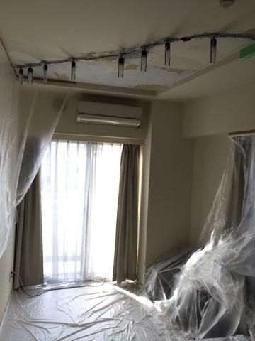 青山メインランド ランドステージ 雨漏りした部屋