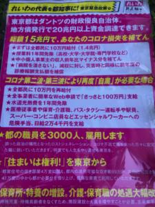 選挙チラシ 山本太郎