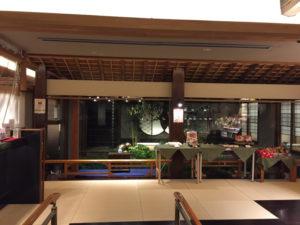 梅の花のフロント 大人の誕生会でマジシャンのマジックショー 神奈川県横浜市泉区