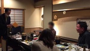 ルーバーズギフト 大人の誕生会でマジシャンのマジックショー 神奈川県横浜市泉区