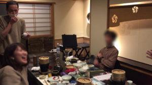 良いリアクションです 大人の誕生会でマジシャン出張/派遣マジックショー 神奈川県横浜市泉区