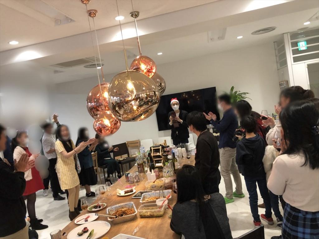 オープニング 企業のファミリークリスマスパーティーでマジシャン出張/派遣マジックショー 東京都千代田区