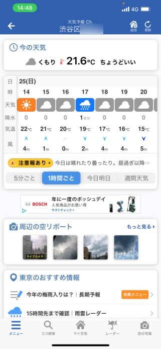 4月25日(日)渋谷区の気温 7thバースデーパーティーに出張マジシャンマジックショー東京都渋谷区