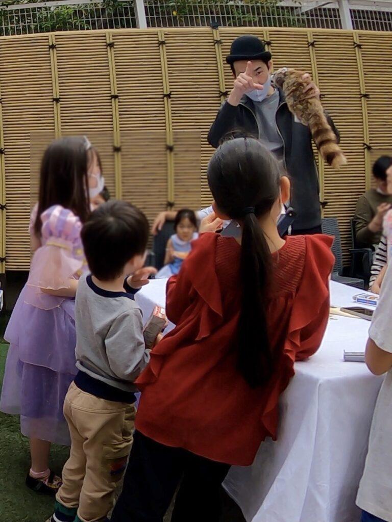 動物の催眠術 7thバースデーパーティーに出張マジシャンマジックショー東京都渋谷区