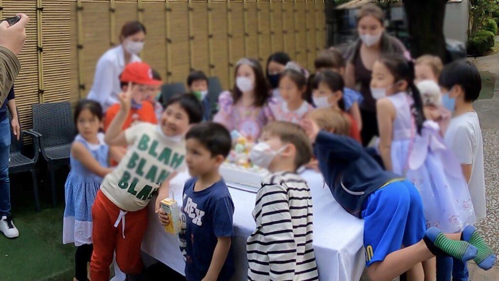 はいチーズ 7thバースデーパーティーに出張マジシャンマジックショー東京都渋谷区