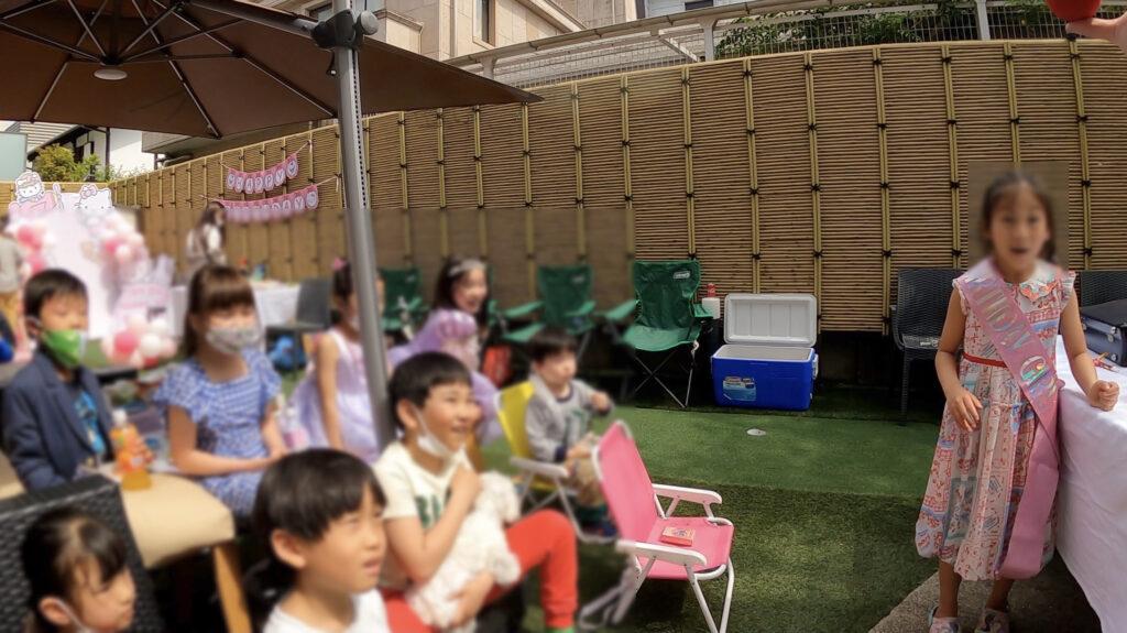 驚き! 7thバースデーパーティーに出張マジシャンマジックショー東京都渋谷区